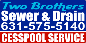 contact us at two brothers cesspool